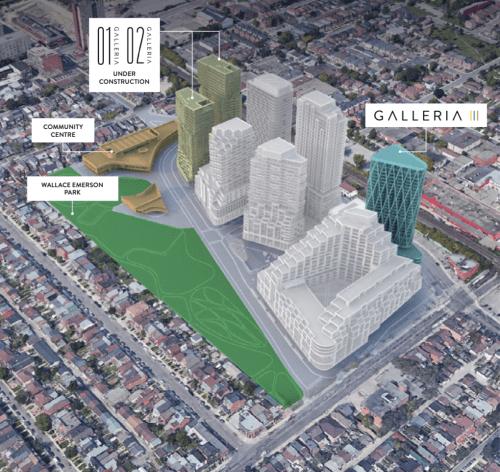 Galleria 3 Condos Masterplan