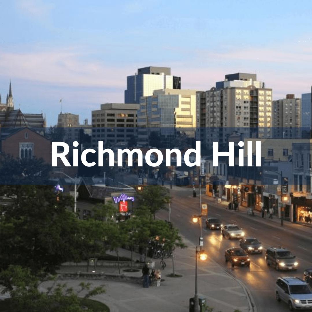 richmond hill pre construction